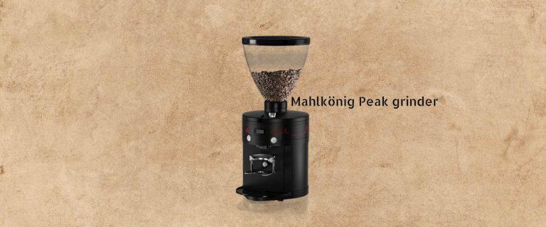 Mahlkonig Peak grinder review