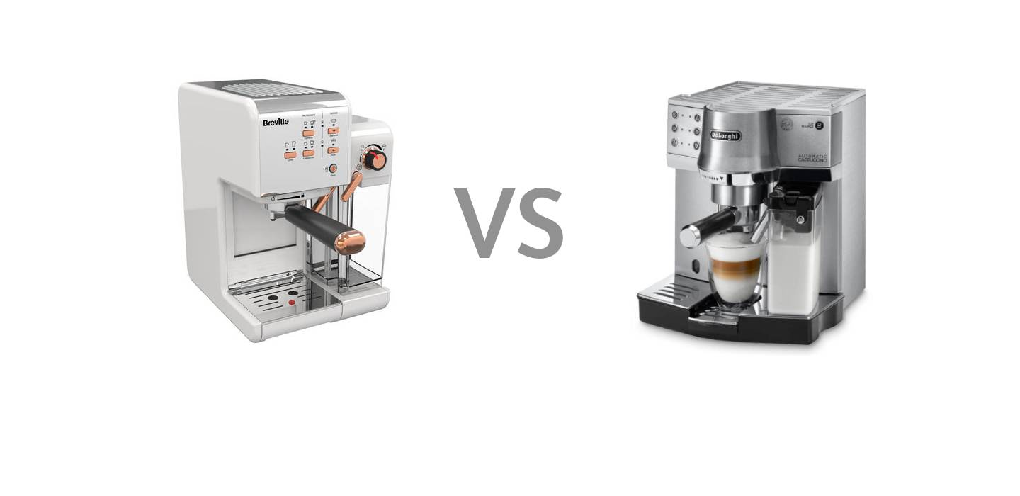 Breville One-Touch CoffeeHouse VS Delonghi EC 860 M