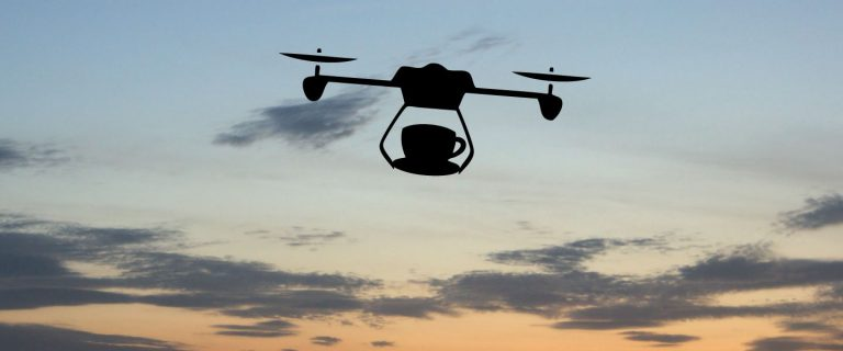 The coffee drone: a new revolution in the industry