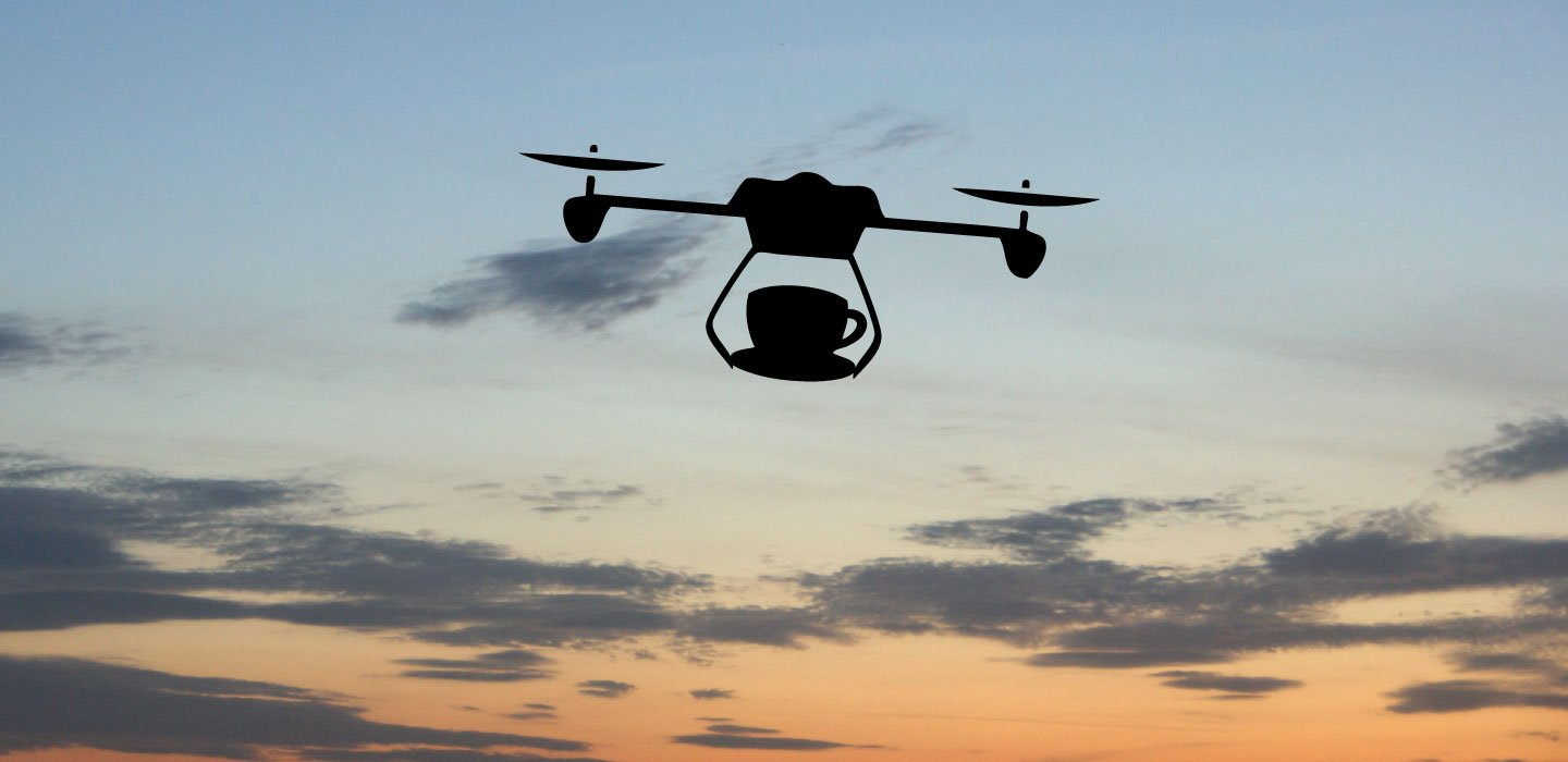 coffee drone revolution