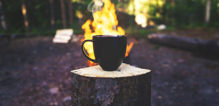 cowboy coffee - campfire coffee