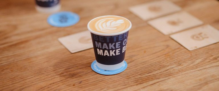 Detpak: the RecycleMe™ take-away cups