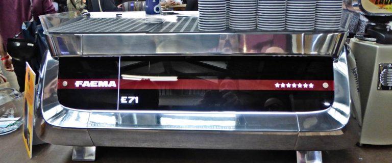Faema E71 Italian Commercial Coffee Machine Review