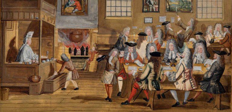 london coffee houses history