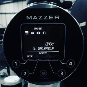 Mazzer ZM Digital Screen