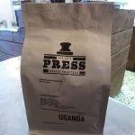 Press coffee from Uganda