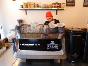 Faema E71 coffee machine