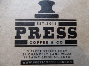 Press Coffee Roasters Shop - My Review 2