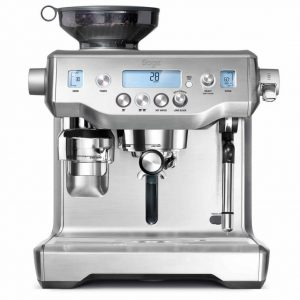 sage oracle coffee machine by helston blumenthal