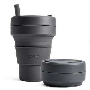 stojo pocket reusable coffee cup