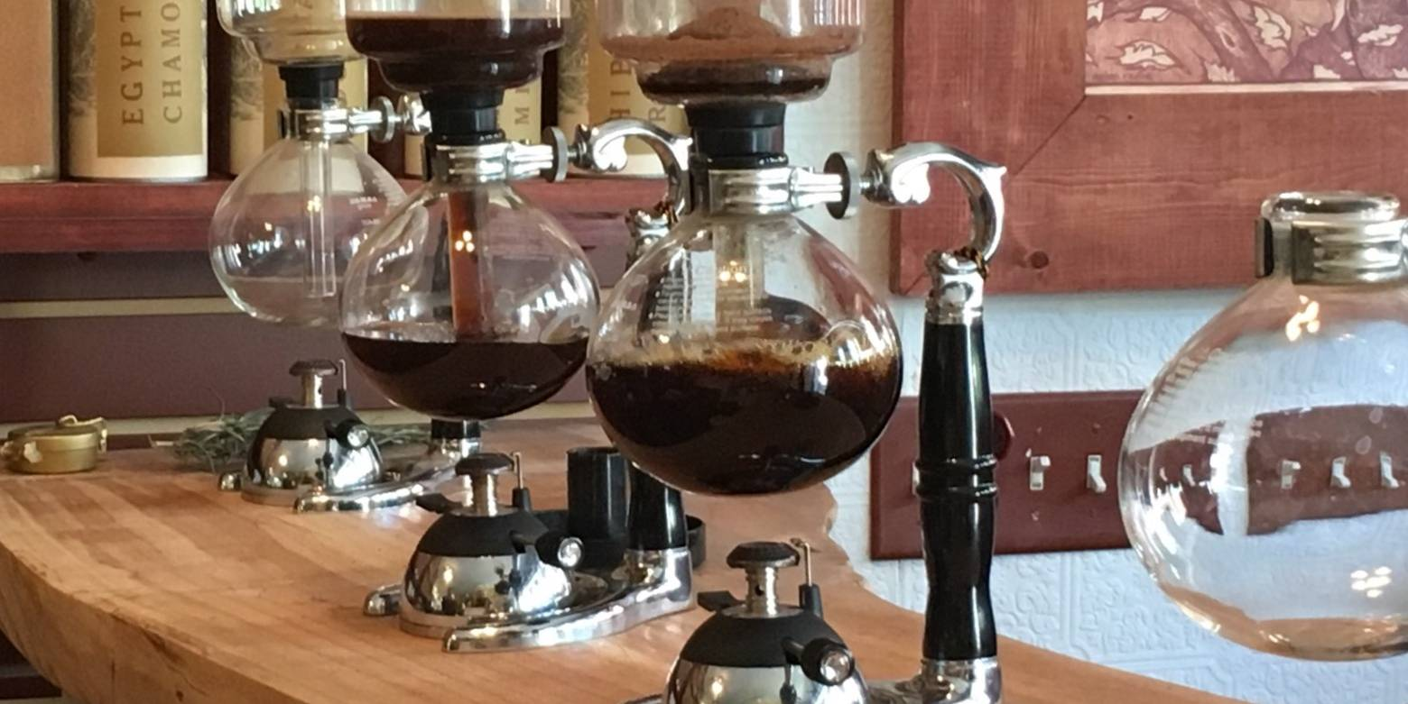 The Syphon Coffee Maker